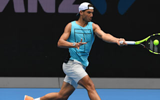 Nadal not thinking about Australian Open title