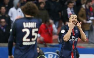 Paris Saint-Germain 4 Reims 1: Ibrahimovic dominates for champions