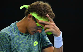 Istomin runs out of steam, Nadal sets up Raonic clash