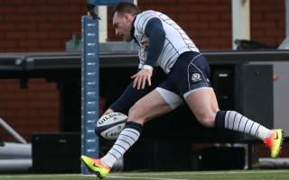 Hogg at the double as Scotland trounce Georgia