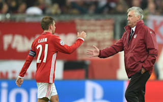I tried to convince him - Ancelotti on Bayern's Lahm retirement blow