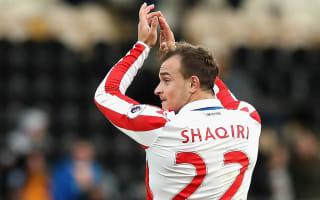Shaqiri major doubt for West Ham trip - Hughes