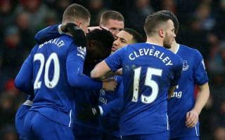 Stoke 0 Everton 3: Toffees hammer Potters at sodden Britannia