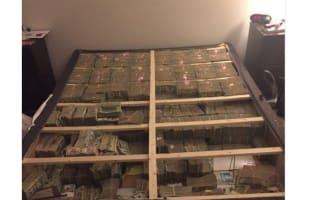 You won't believe how much was under the mattress