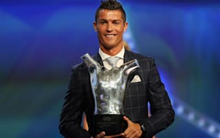 Humble Ronaldo hails team-mates following UEFA award