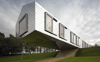 The balancing barn: the weirdest holiday home in the UK?