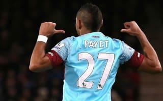 AFC Bournemouth 1 West Ham 3: Payet inspires comeback at Vitality Stadium