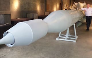 Record-breaking rocket up for sale