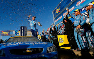 Harvick claims Chase triumph
