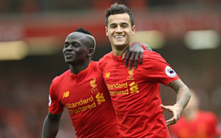 Liverpool are higher in the league - Coutinho in derby dig at Everton