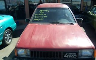 Toyota Tercel from hit US TV show Breaking Bad up for sale