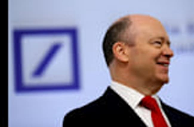 Pressure on Deutsche Bank CEO despite profit lift