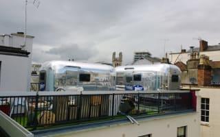 Bristol guesthouse installs rooftop trailer park