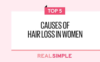 Five causes of hair loss in women