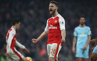 Mustafi: Arsenal never give up