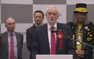 Corbyn defies critics with vote share boost