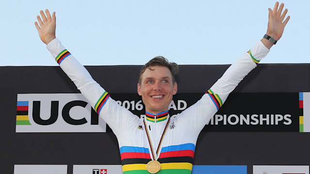 German Martin wins 4th men's world time-trial title