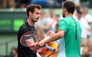Murray crashes out as Nishikori reaches fourth round at Miami Open