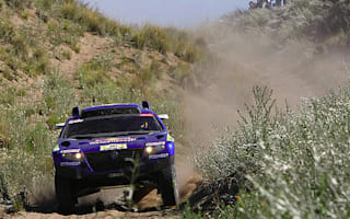 Volkswagen first and second overall after stage two