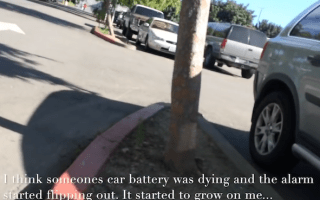 Dying car battery makes seriously catchy tune