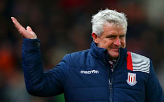 Hughes disappointed as 'dominant' Stoke defeated