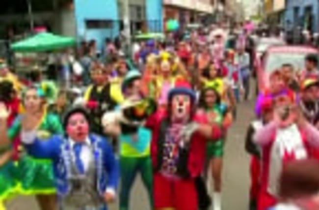 Lima celebrates Peruvian Clown Day