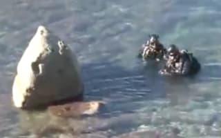 Eight human skulls found on Spanish beach