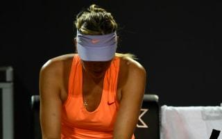 Sharapova injured after Roland Garros snub, Mladenovic stunned in Rome