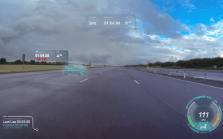 Jaguar's new windscreen tech makes real life more like Gran Turismo