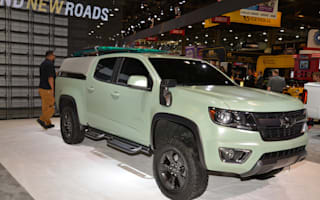 Hurley and Chevrolet collaborate to create surf truck