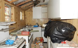 Could you deal with this mess in your new home?