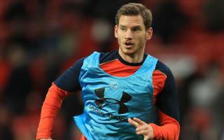 Vertonghen could return against Fulham