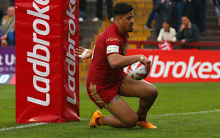Catalans winger Yaha out for several weeks