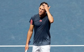 Del Potro through to last eight as Thiem retires hurt
