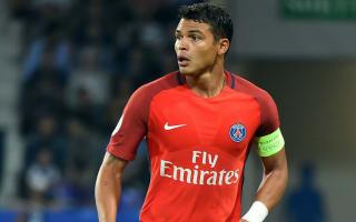 Thiago Silva worried by PSG form