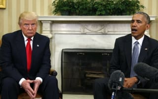 Obama has called his first meeting with Trump 'excellent'