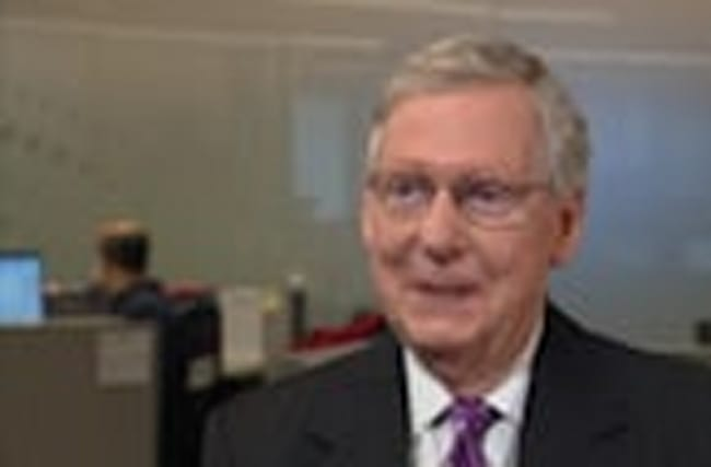 McConnell on healthcare, Trump and taxes