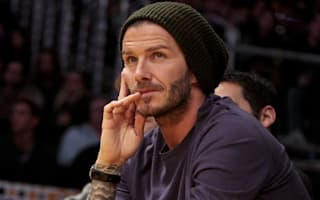 David Beckham selling a fleet of posh cars
