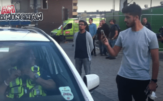 Young millionaire filmed swearing at police after Lambo stop