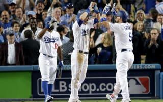 Dodgers edge ahead, Blue Jays alive
