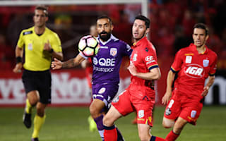 Adelaide United 1 Perth Glory 1: Castro earns point but top-four hopes take another blow