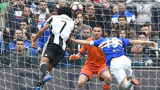 Juventus beat Sampdoria as Scudetto draws closer