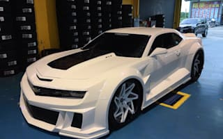 This customised Chevrolet is a Stormtrooper's dream car
