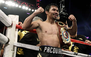 Pacquiao opens door for Mayweather rematch