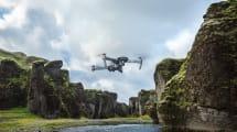 El dron plegable de DJI ahora vuela durante más tiempo y haciendo menos ruido