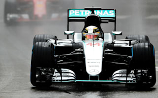 Hamilton ends drought at fast-drying Monaco