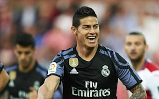 Granada 0 Real Mardrid 4: James and Morata at the double as Madrid ease to win