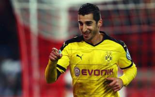 Mkhitaryan in no rush to sign Borussia Dortmund renewal