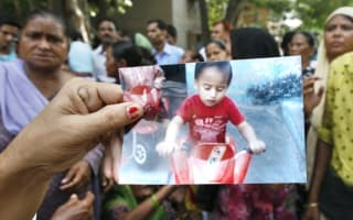 Boy, 2,  boils to death in vat of sugar syrup after rickshaw knocks him from mother's arms