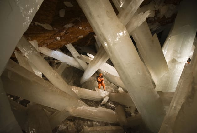 Cave of Crystals, Naica, Mexico